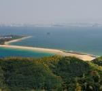 志賀島から見る海の中道